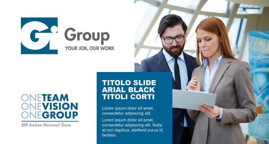 Presentazione Gi Group